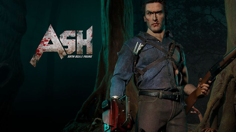 Ash Williams figure from Evil Dead 2