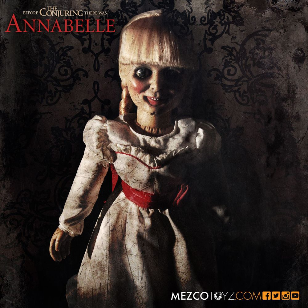 Annabelle doll from Mezco