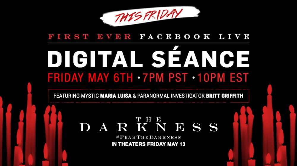 Live Digital Seance on Facebook